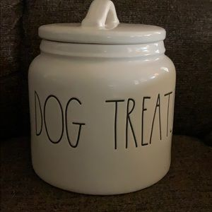Rae Dunn Dog Treat Canister